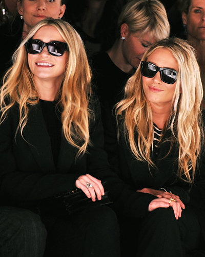 Ashley and Mary-Kate Olsen - Fashion Week