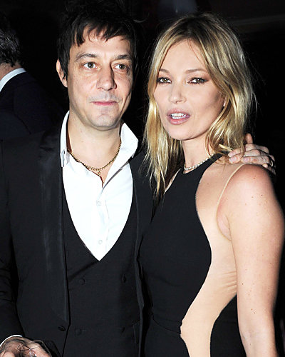 Jamie Hince and Kate Moss - Fashion Week