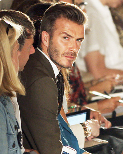 David Beckham - New York Fashion Week