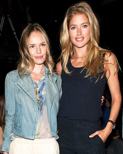 Kate Bosworth and Doutzen Kroes - New York Fashion Week