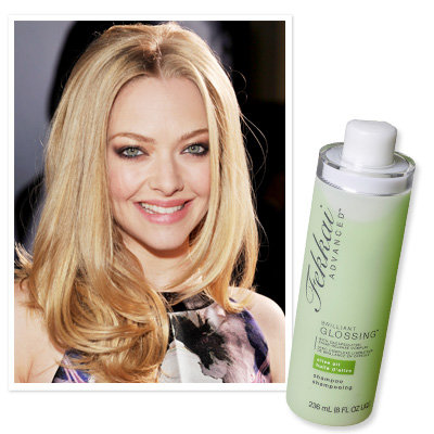 Amanda Seyfried uses Fekkai Brilliant Glossing Shampoo