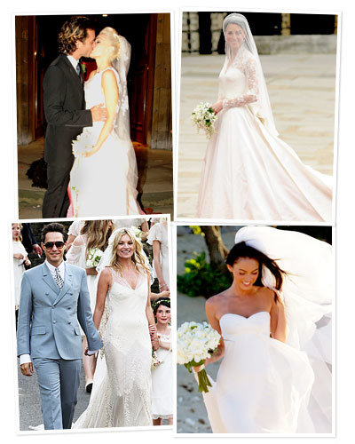 bridal personality - kate middleton - megan fox