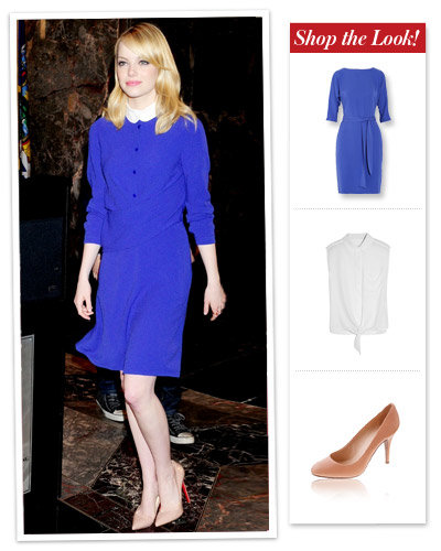 Emma Stone's Bright Day Dress