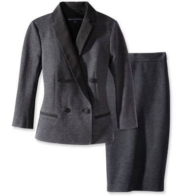 French Connection Blazer and Skirt