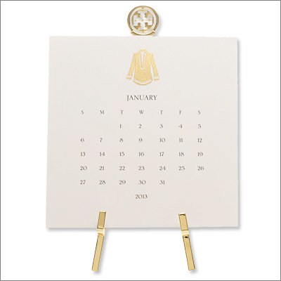 Desk Calendar with Stand