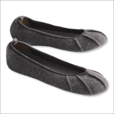 Cashmere Ballet Slippers