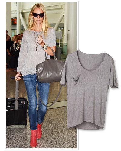 Gwyneth Paltrow - Star Travel Style - Everlane