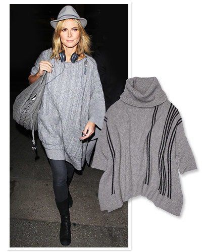 Heidi Klum - Star Travel Style - 360 Sweater