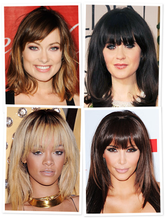 Hairstyles - Bangs - Zooey Deschanel