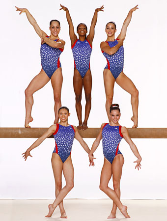 See the Fab Five Before They Were Olympic Champions