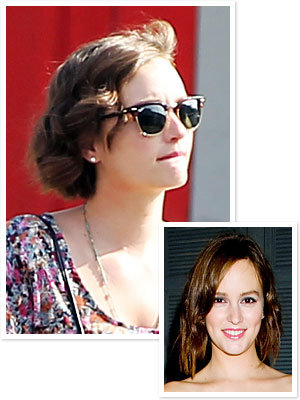 Leighton Meester Cuts Hair Even Shorter! See the Photo