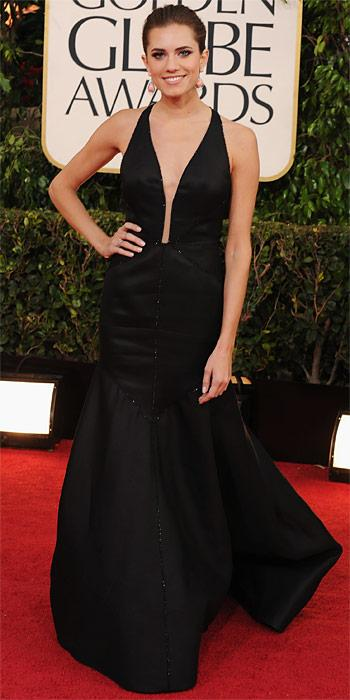 Allison Williams - J. Mendel gown