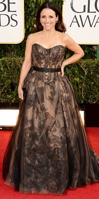 Julia Louis-Dreyfus in Vera Wang