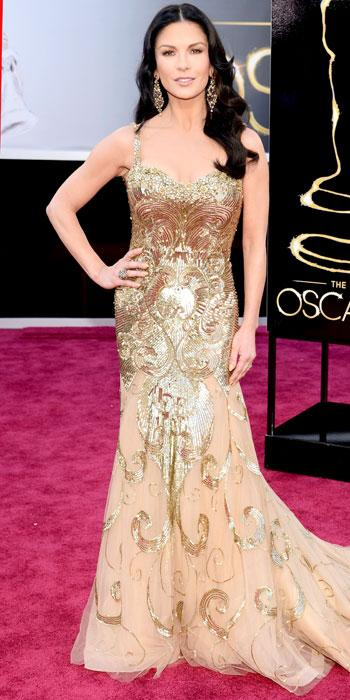 Catherine Zeta-Jones in Zuhair Murad