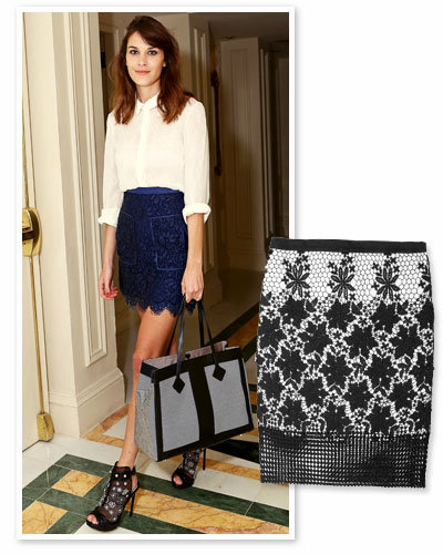 Look your Best: Dainty Lace