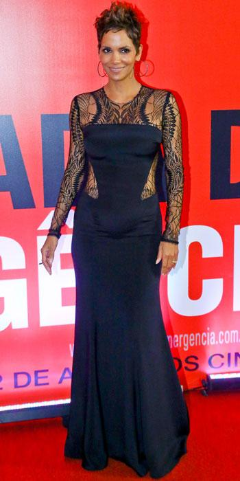 Halle Berry in Monique Lhuillier