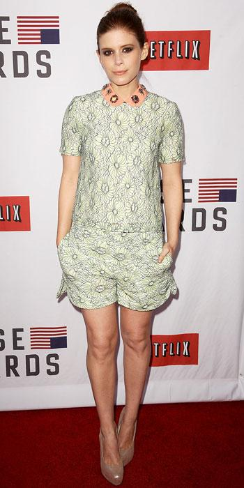 Kate Mara in Mulberry