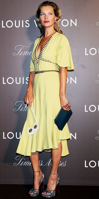 Kate Moss in Louis Vuitton