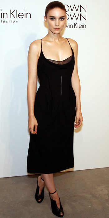 Rooney Mara in Calvin Klein Collection