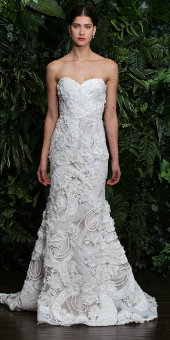 Naeem Khan Fall 2014 Bridal