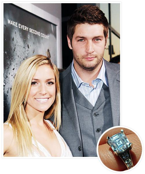 Biggest Celebrity Engagement Rings - Kristin Cavallari and Jay Cutler