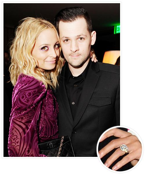 Biggest Celebrity Engagement Rings - Nicole Richie and Joel Madden