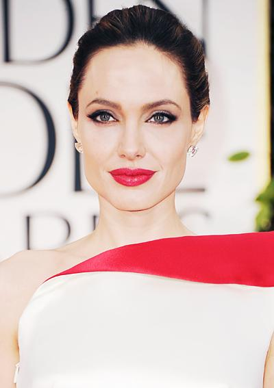 Angelina Jolie Golden Globes