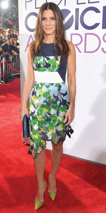 Sandra Bullock in Peter Pilotto