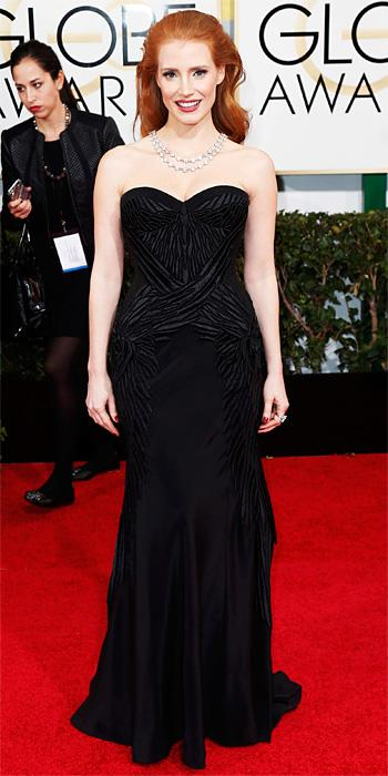 Jessica Chastain - Givenchy - Golden Globes 2014