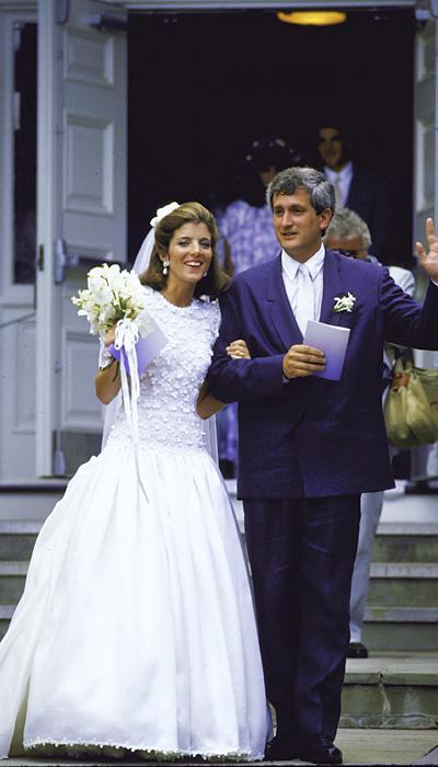Celebrity Wedding Dresses - Caroline Kennedy