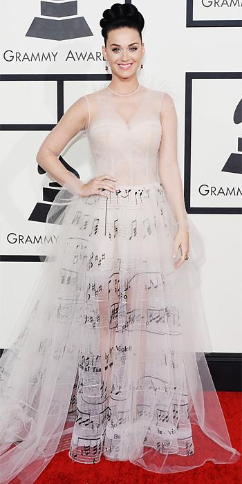 Grammys 2014 - Katy Perry in Valentino Couture