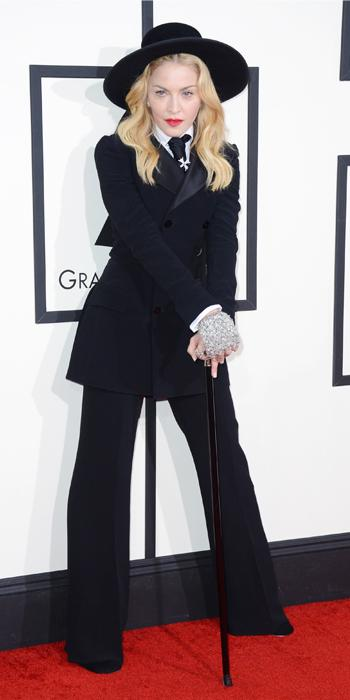 Grammys 2014 - Madonna in Ralph Lauren  sc 1 st  InStyle & Madonnau0027s Most Iconic Looks Ever | InStyle.com