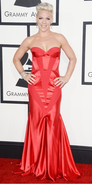 Grammys - Pink in Johanna Johnson