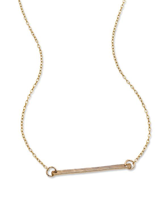 Grey Lee Designs bar necklace