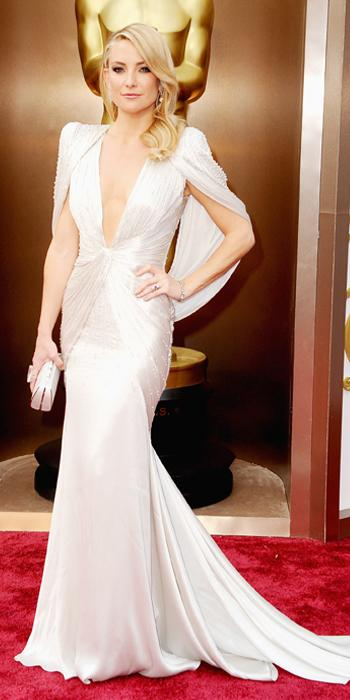 Oscars 2014 - Kate Hudson in Versace with Neil Lane jewels