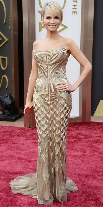 Oscars 2014 - Kristin Chenoweth in Roberto Cavalli with Neil Lane jewels