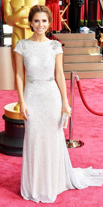 Oscars 2014 - Maria Menounos in Johanna Johnson