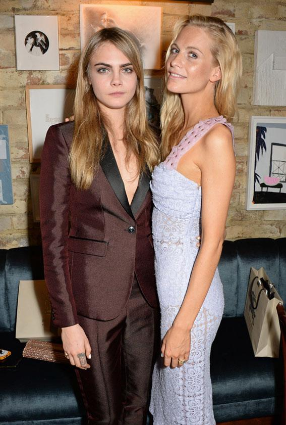Cara and Poppy Delevigne