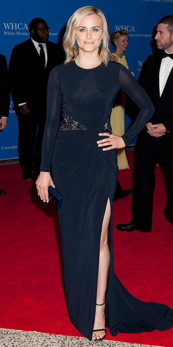 Taylor Schilling at White House Correspondents Dinner