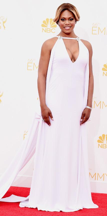 Laverne Cox in Marc Bouwer.