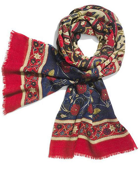 scarves: Tory Burch