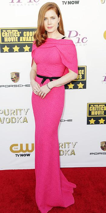 Amy Adams in Roland Mouret