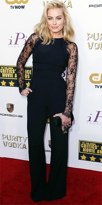 Margot Robbie in Elie Saab