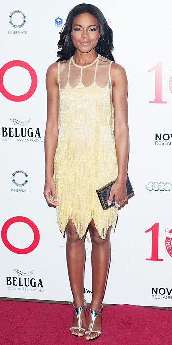 Naomie Harris in Naeem Khan