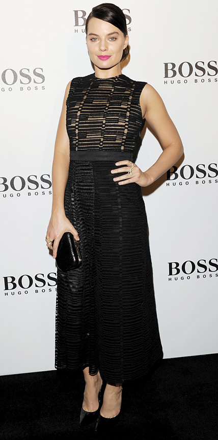 Margot Robbie in Hugo Boss