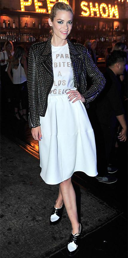 Jaime King in Barbara Bui