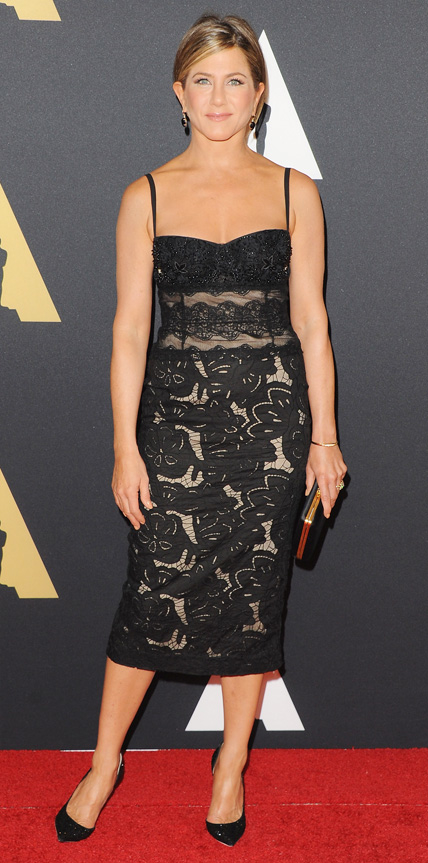 Jennifer Aniston in Zuhair Murad