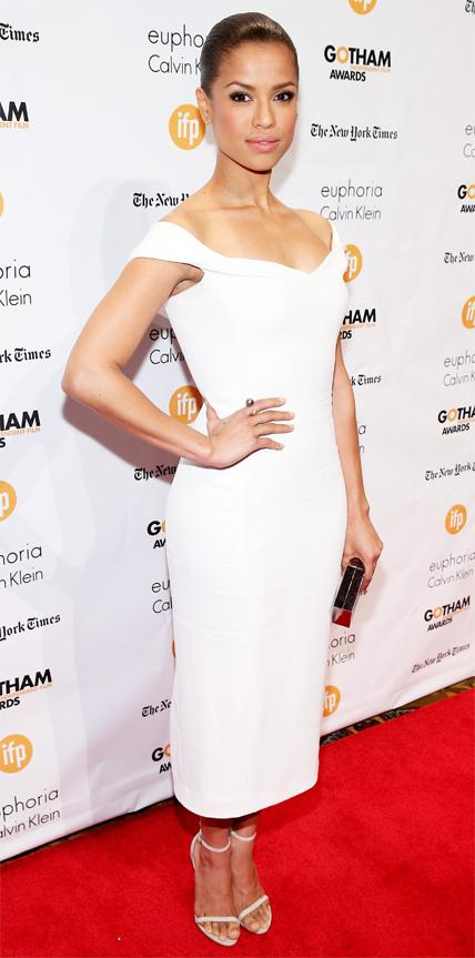 Gugu Mbatha-Raw in Calvin Klein Collection