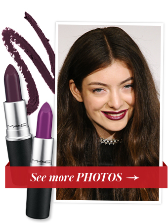 Shop Lorde's Deep Purple Lipstick, and See More Grammy Beauty Moments We Love
