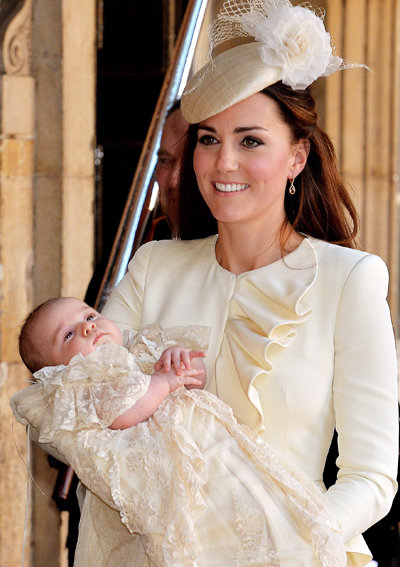 Prince George royal christening